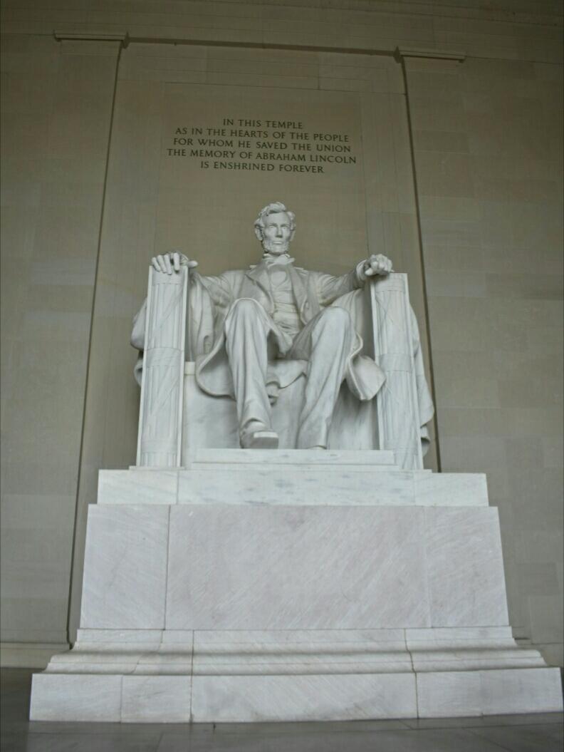 Waszyngton 4 - Pomnik Lincolna.jpg