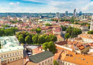 Wakacje: 2 dni w Wilnie z Warszawy za 124 PLN (przejazd Lux Express + 3* hotel ze śniadaniem)