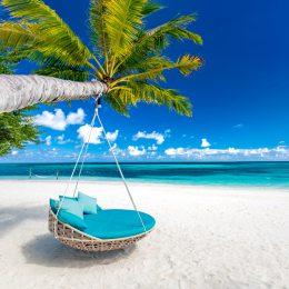 plaża na Malediwach