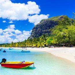 mauritius plaża